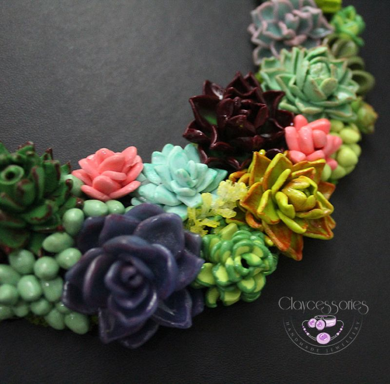 Floral Jewellery by Claycessories