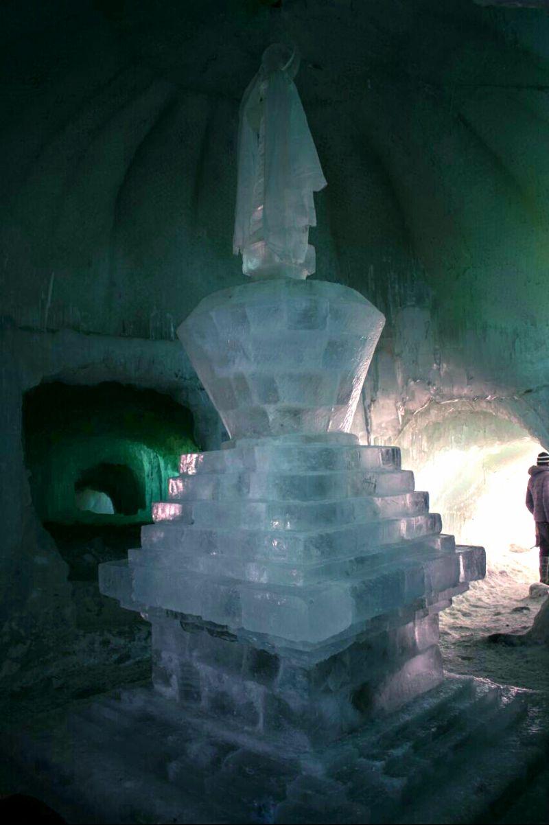 Ice Stupa Ladakh