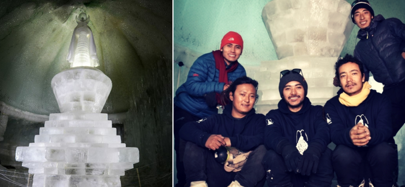 Ice Stupa of Ladakh Solves Water Crisis, Fights Global Warming