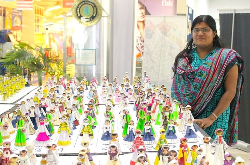 Indian Doll Maker Vijitha Retheesh