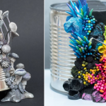 Artist Takes Discarded Objects and Embellish Them With Coral-Like Sculptures