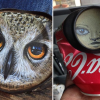 Rejected by Art Galleries, Artist Makes Life-Like Paintings on Old Cans