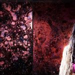 Artist Uses Resin and Pigment to Create Galaxy Paintings With Hypnotizing Depth