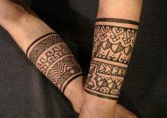 indian tribal tattoo