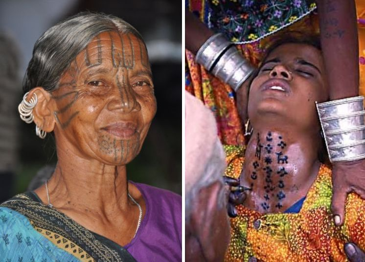 Taping ink into the skin! Brief history of Indian traditional tattoos