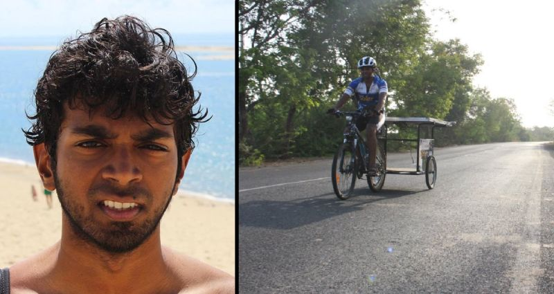 IIT-Bombay alumnus cycled across 9 Indian states for a good cause