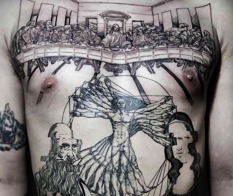 20 museum-worthy tattoos honouring iconic works of art history