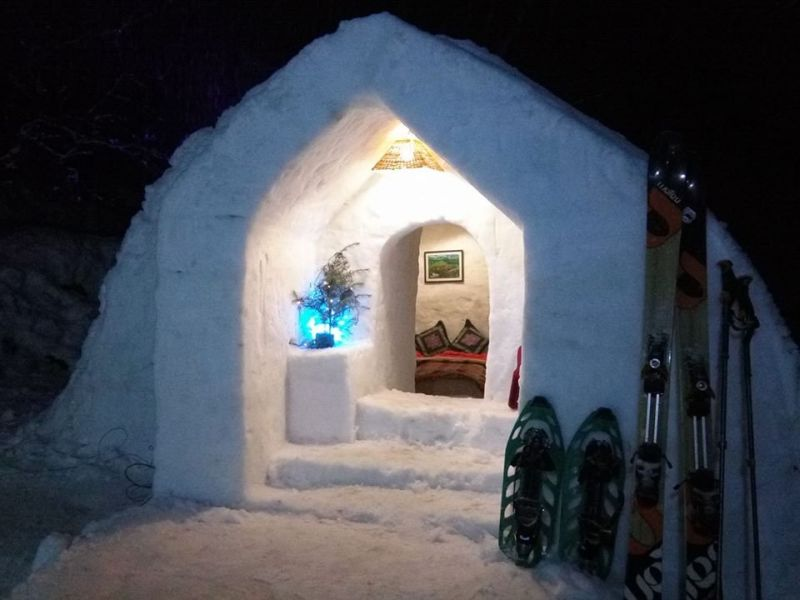 Dream of living in an Igloo? Head to Manali this February
