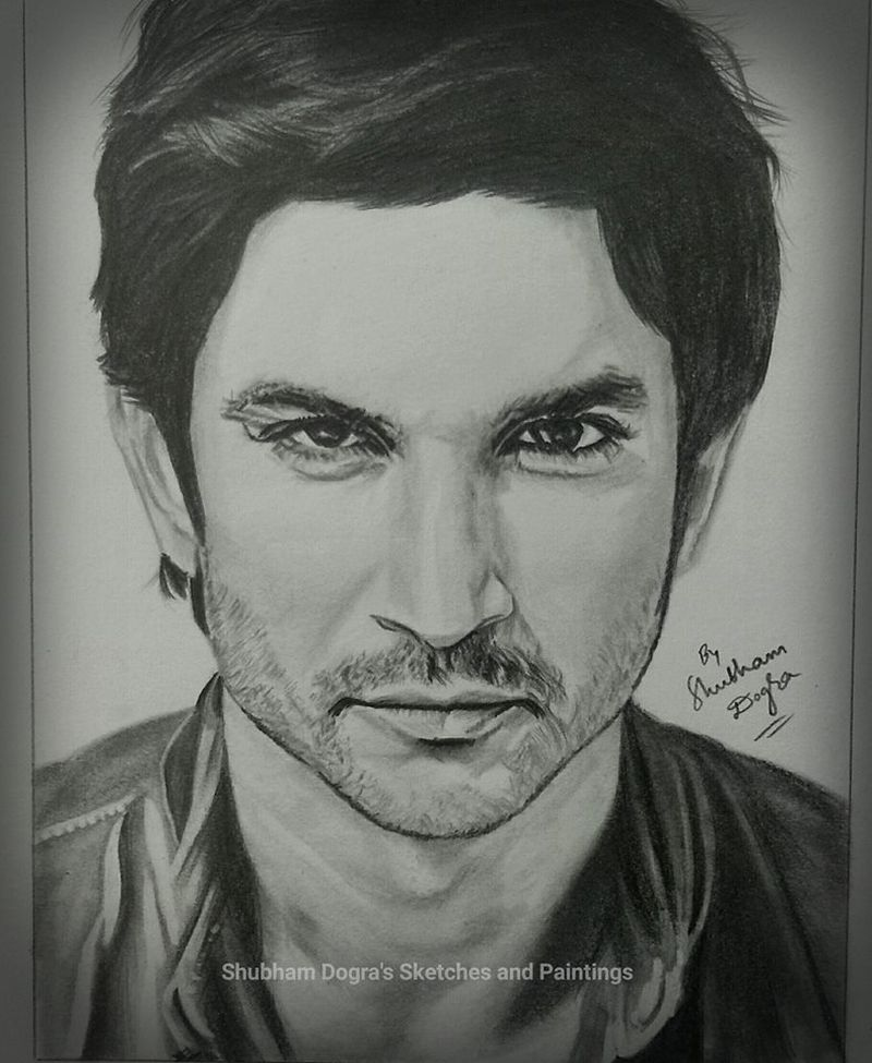 Shubham Dogra sketches and paintings-10