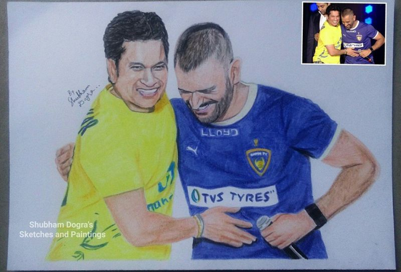 Shubham Dogra sketches and paintings-12