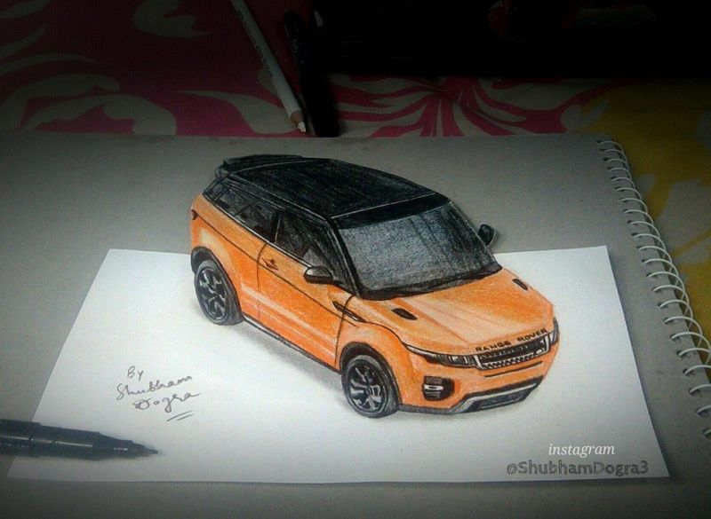 Shubham Dogra sketches and paintings-4