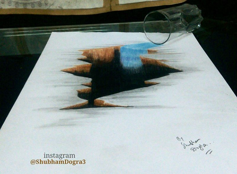 Shubham Dogra sketches and paintings-6
