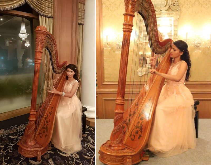Meagan Pandian – Her journey of being India's first Harp player