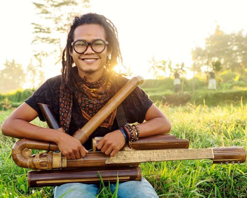Meet Rizal, the creator of unique music instrument 'Rasendriya'