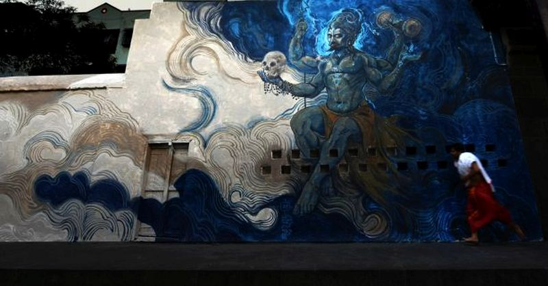 Inkbrushnme: Pune artist brings mythology alive in the streets of his city